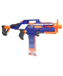 Nerf N Strike Rapid Strike Gun With Darts - Blue And Orange