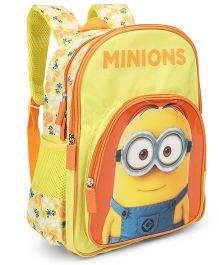 Minions Dave School Bag Yellow - 18 inches