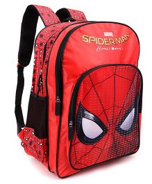 Marvel Spiderman Homecoming School Bag Red - 18 inches