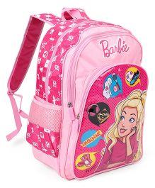 Barbie Imagination School Bag Pink - 18 inches