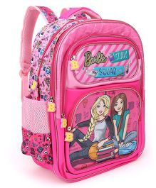 Barbie Squad School Bag Pink - 18 Inches