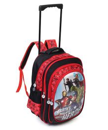 Marvel Avengers Heros School Trolley Bag - Height 16 Inches