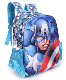 Marvel Captain America School Bag - 14 inches