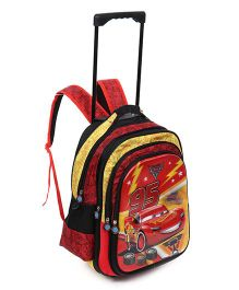 Disney Pixar Cars McQueen Trolley School Bag Red - 16 inches