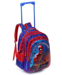 Marvel Spider-Man Homecoming School Trolley Bag Blue - 16 inches