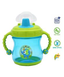 1st Step Sipper With Twin Handle Aqua Blue - 300 ml