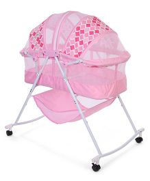 1st Step Bassinet - Pink