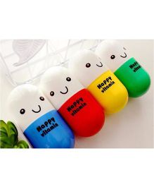 Kidslounge Capsule Shaped Gift Towel 5 Pieces - Multicolor