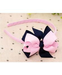 Angel Closet Girls Lovely Bow Hairband - Pink And Blue