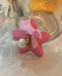 Angel Closet Girls Glitter Star Clip - Pink