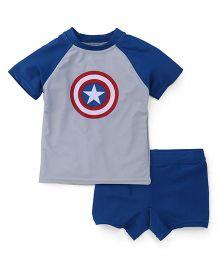 Fox Baby 2 Piece Swimsuit - Royal Blue