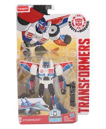 Transformers Funskool Robots In Disguise Stormshot Action Figure - Blue White