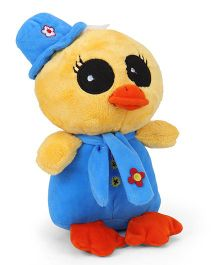 Play Toons Duck Soft Toy Blue Yellow - 22 cm
