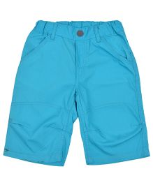 Kuddle Kids Double Stitched Line Shorts - Blue