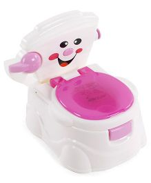 Baby Potty Seat - White Pink