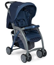 Chicco Simplicity Plus Stroller - Blue Passion