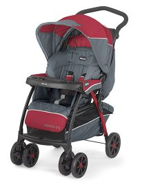 Chicco Cortina CX Stroller Lava - Maroon & Grey