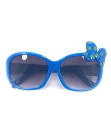 Tickles 4 U Bow Applique Sunglasses - Blue
