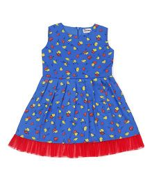 Ventra Girls Singori Dress - Blue
