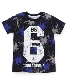 Ventra Boys Be Strong T-Shirt - Navy Blue
