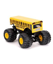 Hot Wheels Die Cast Monster Jam Higher Education - Yellow