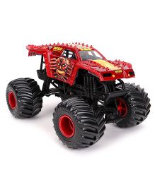 Hot Wheels Die Cast Monster Jam Max D - Red