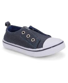 Pumpkin Patch Sneakers - Navy Blue & White