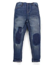 Mothercare Denim Jeans Stone Washed Style - Blue
