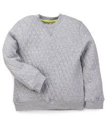 Mothercare Full Sleeves Sweatshirt - Grey