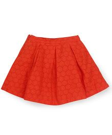 Mothercare Skirt Self Design Solid Color - Orange