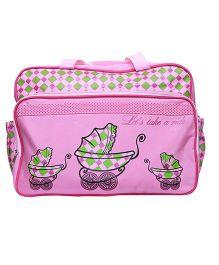 Kiwi Diaper Bag - Pink