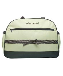 Kiwi Diaper Bag Baby Angel With Ribbon Bow - Green
