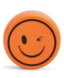 Smiley Face Print Collapsible Cup - Orange
