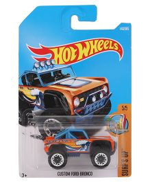 Hot Wheels Surf's Up Cars - Orange And Blue