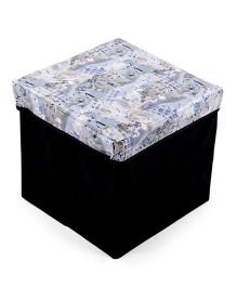 Multi Print Storage Box - Off White