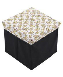 Bow Print Storage Box - Multi Color