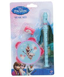 Disney Frozen Music Set - Blue And Pink