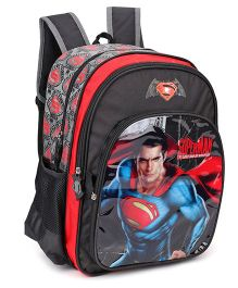 DC Comics Superman Backpack Black - 17 Inches