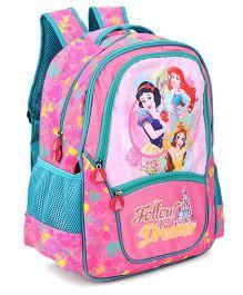 Disney Princess Follow Your Dreams Backpack Pink