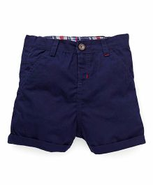 Beebay Plain Shorts - Navy