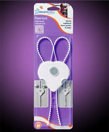 dreambaby Cabinet Flexi Lock - White