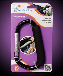 Dreambaby Stroller Hook Carabiner - Black