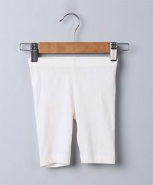 Beebay Capri Leggings Plain - Off White