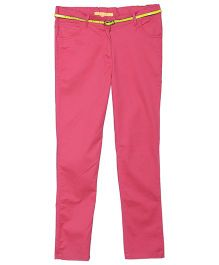 612 League Full Length Solid Color Pant - Pink