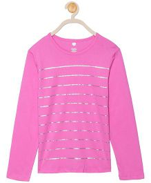 612 League Full Sleeves Top - Pink
