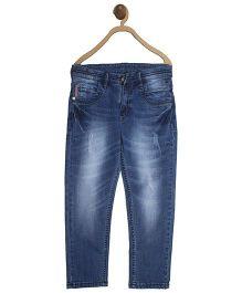 612 League Full Length Jeans - Light Blue
