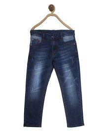 612 League Full Length Basic Jeans - Denim Blue