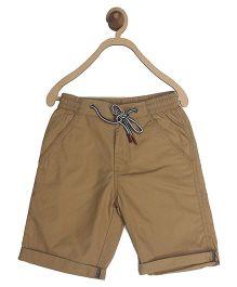 612 League Poplin Solid Color Shorts - Brown