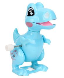 Wind Up Dinosaur Toy Blue - 10 cm
