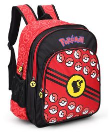 Pokemon Poke Balls Backpack Red - 16 Inches